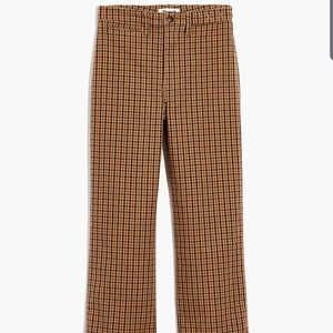 Target Who What Wear Check Plaid Wide Leg Trousers